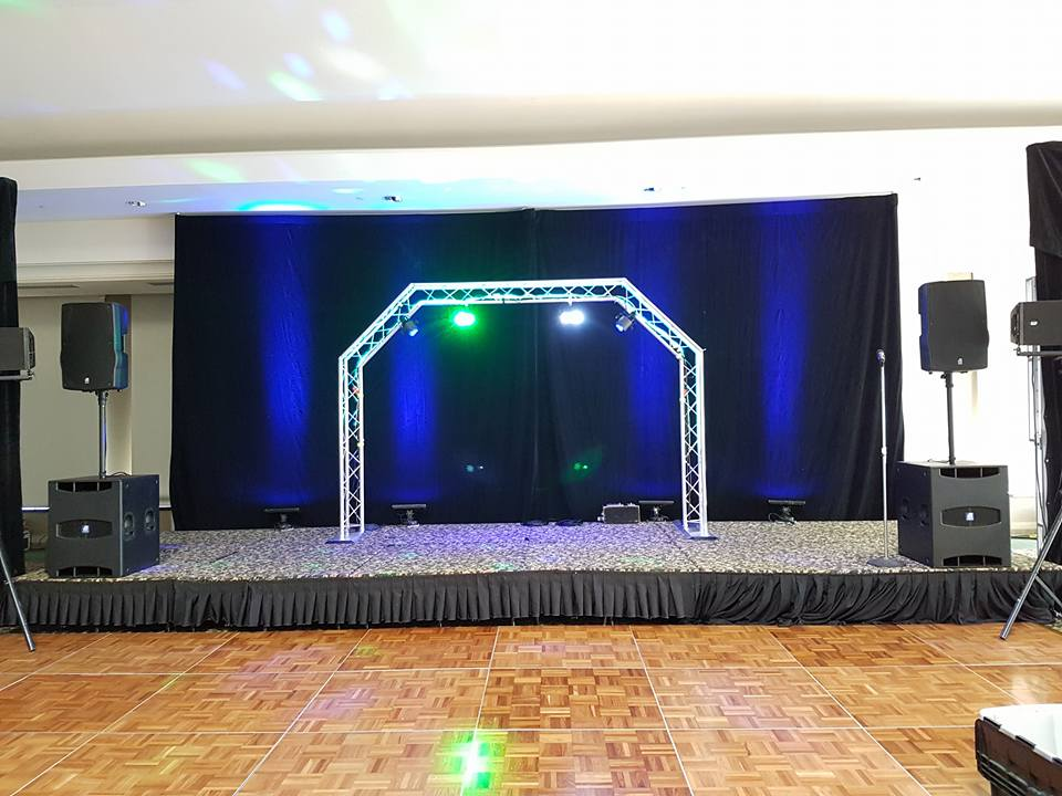 Stage Truss and sound