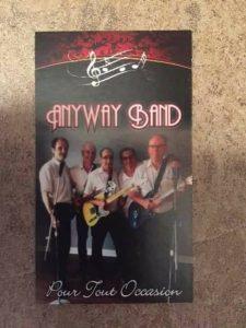 Anyway Band Orchestre rétro année 60 à 80