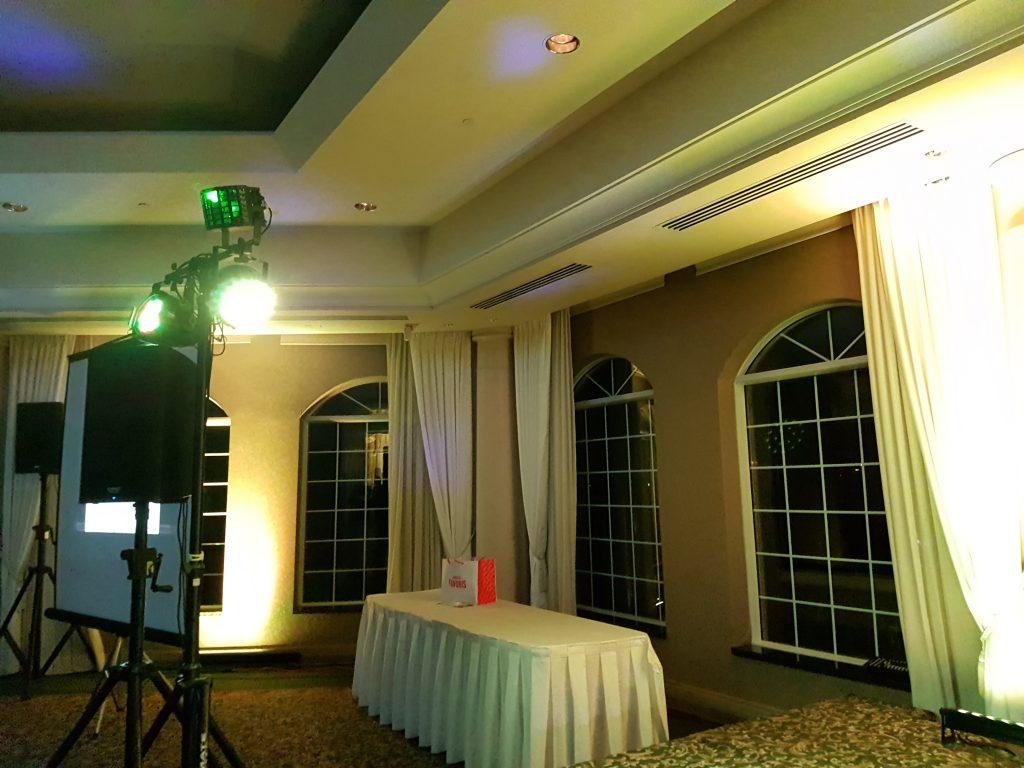 Lumière Derby laser, Mix Laser sur trépieds