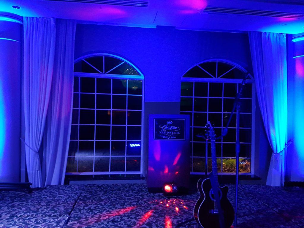 Lumière Uv pour votre ambiance de la salle.