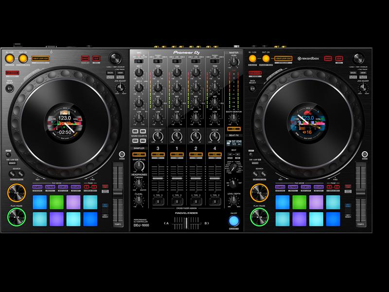 Pioneer DDJ-1000 controleur de musique pour DJ.